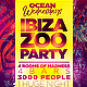 Ibiza Zoo Party Flyer Template - GraphicRiver Item for Sale