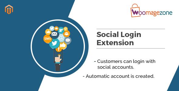 Social Login Magento Extension