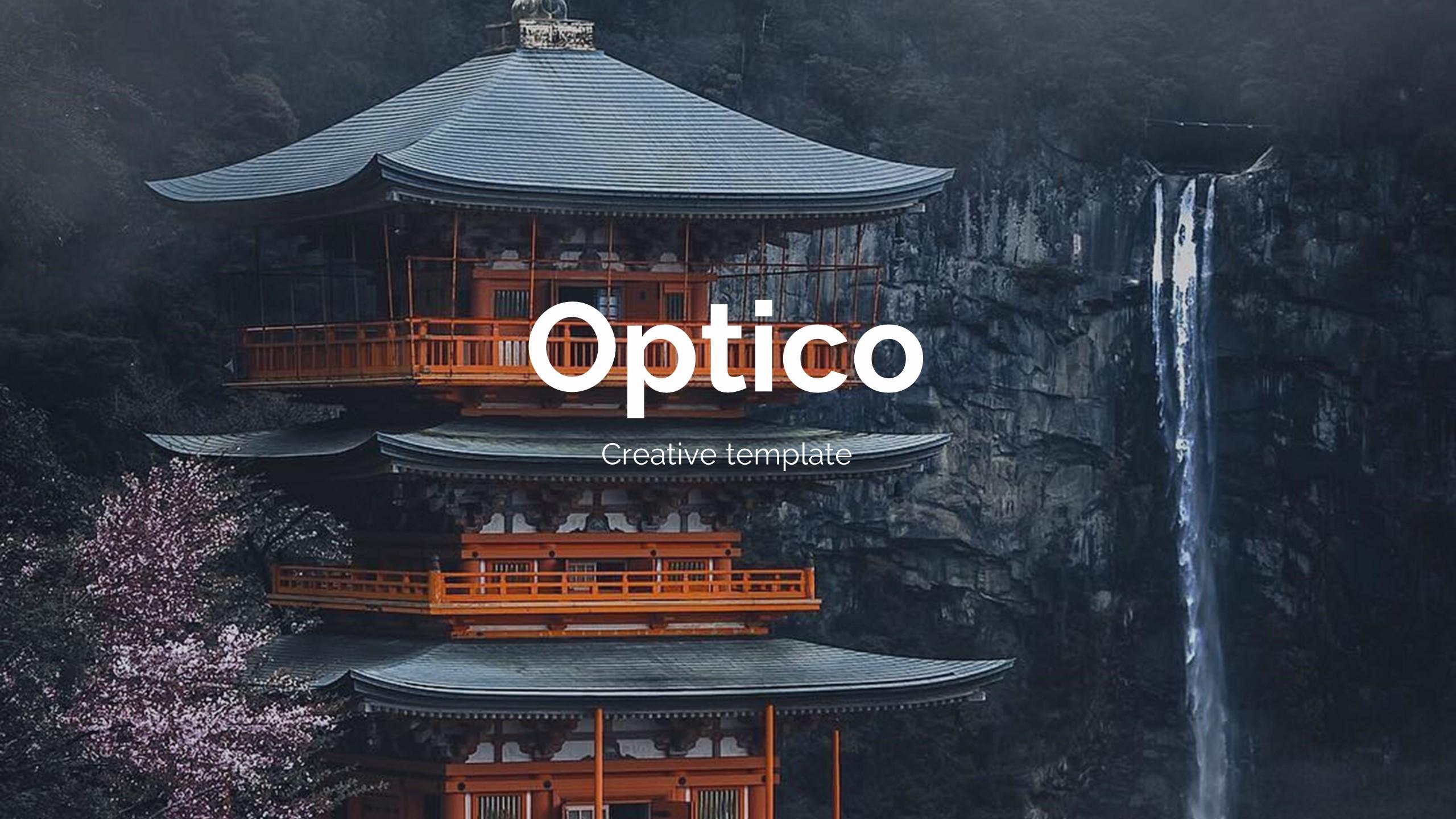 Optico Premium Design Powerpoint Template