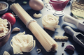 pasta and food ingredient  on table - PhotoDune Item for Sale
