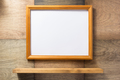 picture frame at wooden background - PhotoDune Item for Sale