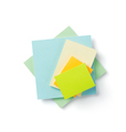 memory note paper at white background - PhotoDune Item for Sale