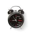 alarm watch clock on white background - PhotoDune Item for Sale