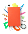 office supplies at white background - PhotoDune Item for Sale