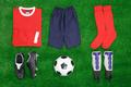 Football Soccer flat lay - PhotoDune Item for Sale