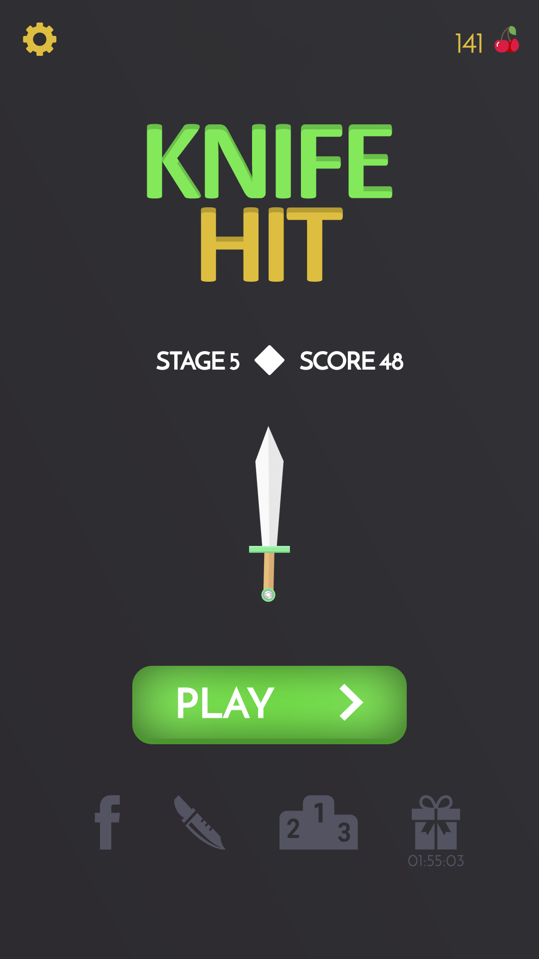 Knife Hit - Ultimate Challenge + Appodeal Ads + IAP + Unity Project