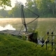 Fog on Fishing Pond - VideoHive Item for Sale