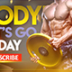 Bodybuilding & Fitness YouTube Banner - GraphicRiver Item for Sale