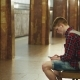 Young Man Using Smartphone Waiting for Subway Train at Metro Station - VideoHive Item for Sale