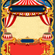 Circus Editable Frame Vector - GraphicRiver Item for Sale