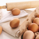 Fresh farm eggs on table - PhotoDune Item for Sale