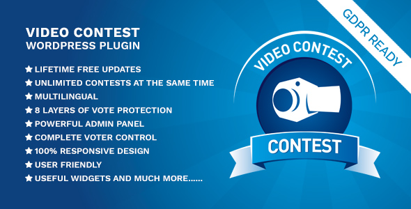 Video Contest WordPress Plugin - CodeCanyon Item for Sale