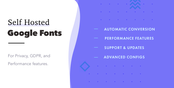 Self-Hosted Google Fonts Pro            Nulled