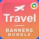 Banner Set Bundle - 10 Sets - 170+ Banners - GraphicRiver Item for Sale