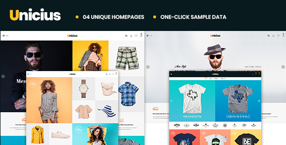 Image of Unicius – Fashion, Clothing & Accessories PrestaShop 1.7 Theme