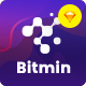 BITMIN - Cryptocurrency Currency ICO, Mining Sketch Template - ThemeForest Item for Sale