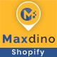 Maxdino - Multipurpose Shopify Theme - ThemeForest Item for Sale