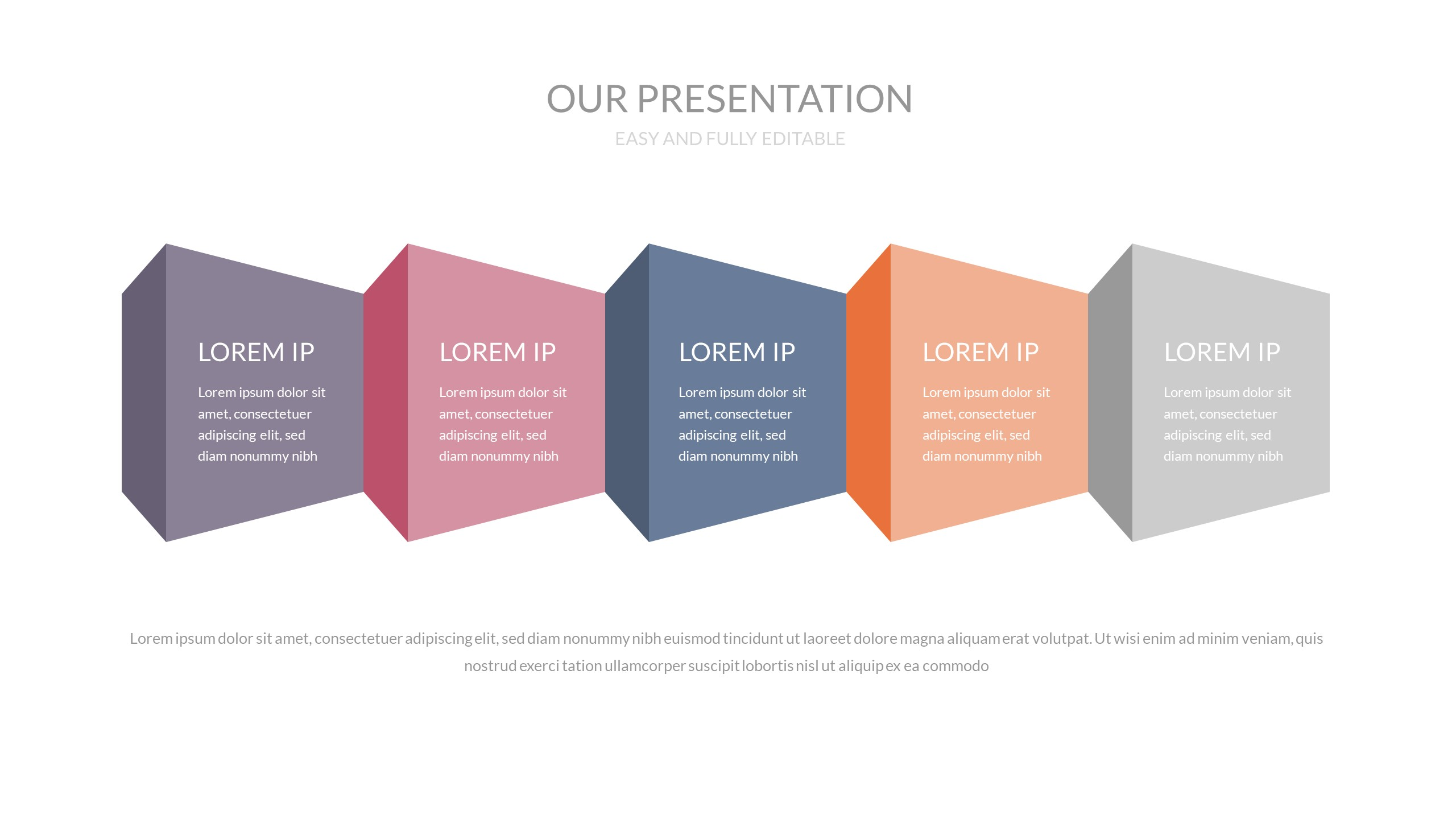 Holds - Multipurpose Keynote Presentation Template