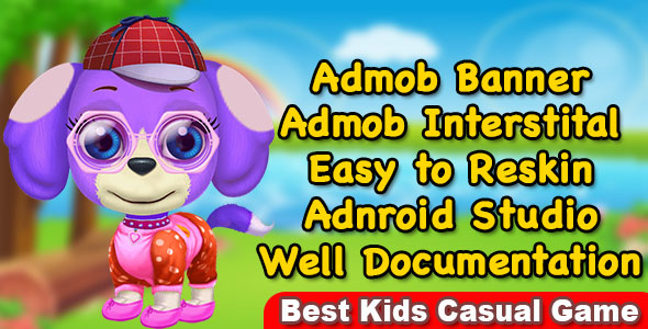 Pet Care And Salon Game For Kids + Best Casual Game For Kids + Ready For Publish            Nulled