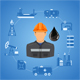 Oil Industry Infographics - GraphicRiver Item for Sale