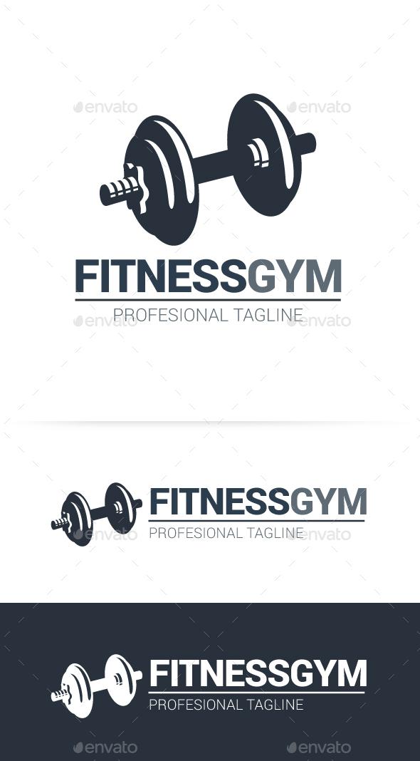 Fitness Gym Logo - Objects Logo Templates
