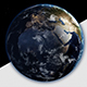 Earth Rotating The World Spinning Full Rotation Realistic Planet Turning 360 Degrees - 13