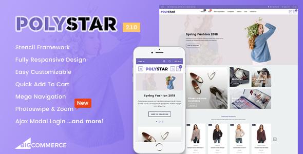 Polystar - Responsive BigCommerce Theme