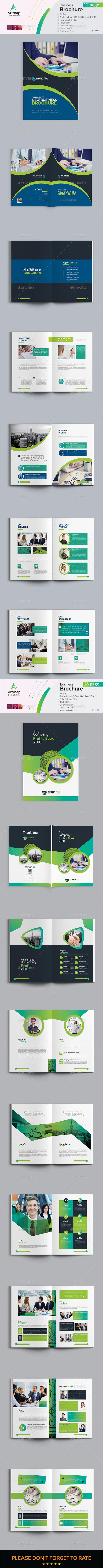 Bundle Brochure 2 in 1 - Brochures Print Templates