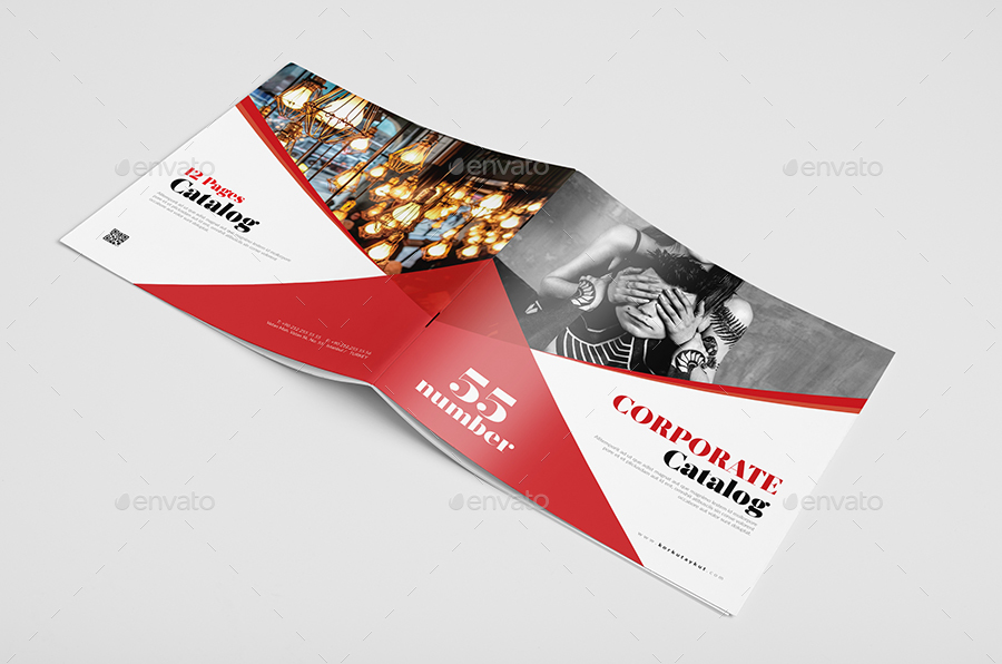 Corporate Catalogue Template