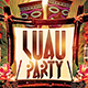 Luau Party Flyer - GraphicRiver Item for Sale