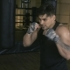 Male Boxer Shadowboxing in Gym - VideoHive Item for Sale