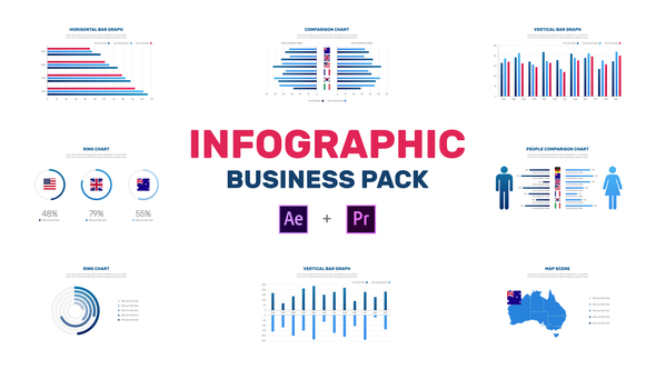 HOT - Infographic Business Pack