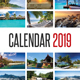 Wall Calendar 2019 V02 - GraphicRiver Item for Sale