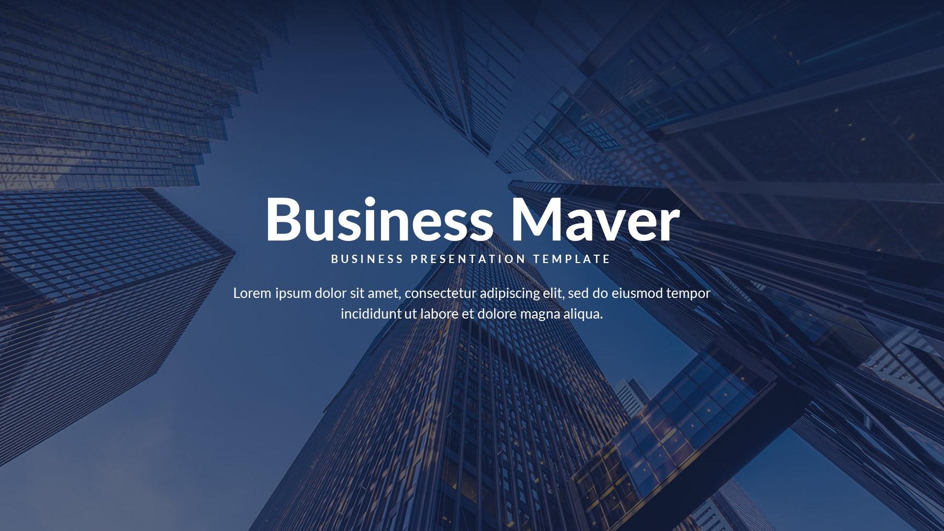 Business Maver Google Slide Template