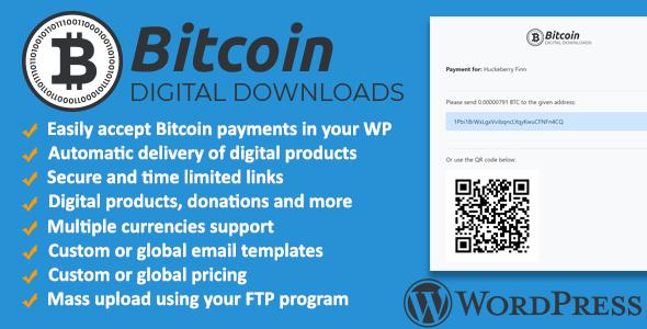 Bitcoin Digital Downloads and Terminal Wordpress Plugin            Nulled
