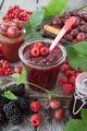 Homemade raspberry jam - PhotoDune Item for Sale