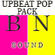 Upbeat Inspiring Pop Pack