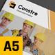 Construction Business A5 Brochure