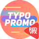 Short Typo Promo - VideoHive Item for Sale