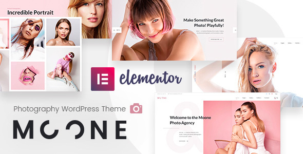 Moone - Photography Portfolio WordPress Theme