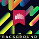 Rounded Line 3d Background