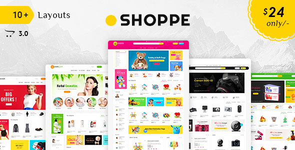 Image of Shoppe - Opencart 3 Multi-Purpose Responsive Theme