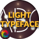 Light Typeface - VideoHive Item for Sale