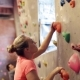 Young Woman Exercising at Indoor Climbing Gym Wall 2 - VideoHive Item for Sale