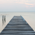 Wooden Jetty At Dawn - PhotoDune Item for Sale