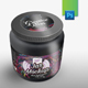 Black Supplement Jar Mockup - GraphicRiver Item for Sale