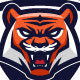 Tigers Badge - GraphicRiver Item for Sale