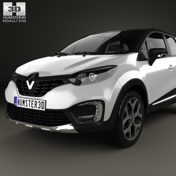 Renault Captur 2017 By Humster3d 3docean