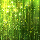 Green Glossy Rain Background with Glitter Particles - VideoHive Item for Sale