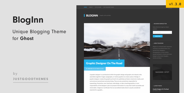BlogInn - Bold Theme for Ghost - Ghost Themes Blogging